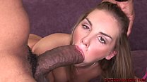 Brianna Love stretched out by huge black cock thumbnail