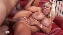 Busty mature babe banged by a vaillant fucker video