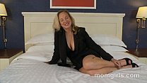 Professional milf doesnt have time for sex so does her first porn - VideoMakeLove.Com
