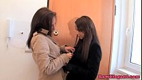 Glam Euro Le sbians Toying And Pussylicking