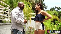Abella Danger gagging on big black dick before ... Thumbnail