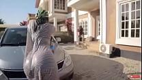 Naija girl car wash twerk's Thumb