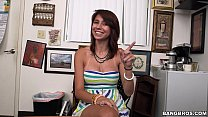 Amateur Teen in Casting has great Tits - 9Club.Top