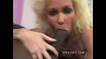 7664 Blonde loves big black cock in her mouth and pussy preview