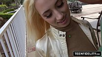 TEENFIDELITY Perky Teen Takes a Creampie - 9Club.Top