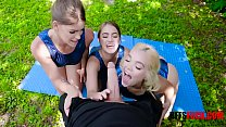 Gymnasdick Training- Lea Lee, Kenzie Madison and Katie Kush thumbnail