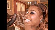 Black chick gets anal black dick