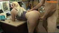 Big boobs whore pounded by pawn dude