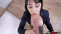 15761 Busty business MILF stepmom sucked a stepsons big cock preview