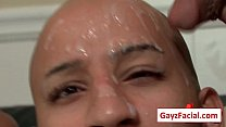 Bukkake Boys - Gay Hardcore Sex from www.GayzFacial.com 14