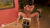 VR BANGERS Tattooed Curvy MILF Breaks Into Your