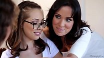 Lesbian tiny couple and the mommy SexCamsHD.tk