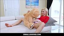 Tiny Blonde Teen Sia Lust Fucked On Valentines