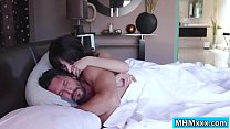 Horny latina fucked by her stepdad video