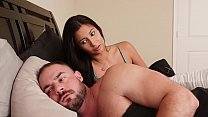 BANGBROS - Petite Jade Jantzen Climbs Into Bed With Her Step Daddy & This Happens