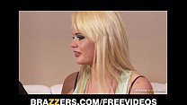 FIT blonde slut Alexis Ford is interviewed and ...