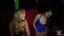 GIRLS GONE WILD - Young Blde Lesbians Make Out and E Pussy in Club - 9Club.Top