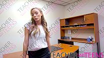 Schoolgirls squirting orgasm with teacher and monster cock image