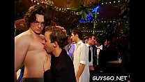 Gay babes partying hard