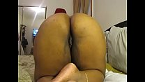 WIDE FAT ASS EBONY BBW GRANNY GETS SOME ANAL PL...