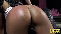 Black british sub face and pussyfucked Image