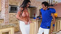 Gorgeous Step Mom Melissa Lynn Forces Step Son to Fuck Her Deep
