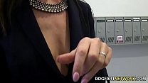 Lara Latex Quenches Her Hunger For Black Cock thumbnail