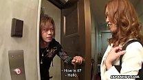Attractive Japanese saleswoman gets gangbanged and creampied by horny buyers - 9Club.Top