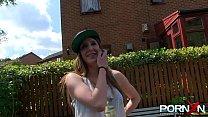 Busty Natural Milf Samantha Bentley In Public