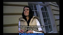 PublicAgent Rebecca has stunning blue eyes and a tight fit body. thumbnail