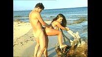 Busty Tiziana Redford sex on the beach Vorschaubild