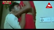 red saree aunty seducing hot preview image