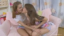 Lesbian girlfriends strapon fucking pornhub video
