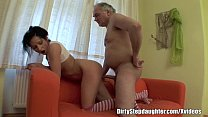 Tipsy Stepdad Fucks Stepdaughter's Teen Pussy Preview