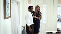 PURE TABOO Jaye Takes BBC Creampie to Please Father-in-Law Image