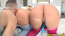 Reality Kings - Two hot blondes share cock's Thumb