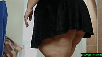 Ssbbw Drilled After Cocksucking On The Floor
