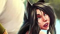 Ahri : League Of Legends Sex Scene Part 2 At : ...