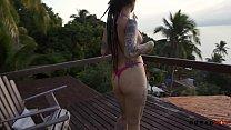15748 Putaria na Ilha - Boquete na Praia, sexo com vista pro mar e duas gozadas - Dread Hot preview