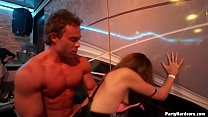 Horny amateur Czech MILF Marika lets a stripper pound on her slutty cunt and can't believe what she did afterward in PHGC31