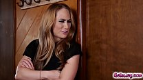 Carter Cruise does asshole inspection on Luna Star
