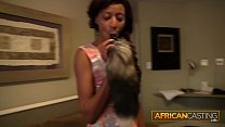Ebony Anal Slut Goes All In for Model Career thumbnail