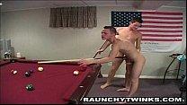 Sexy Hunks Threesome Pool Game