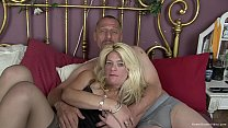 Horny Mature Couple Make Their First Homemade V