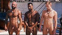 Naked men on TV show