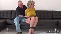 Screenshot Adulterous English Mature Gill Ellis Displays H