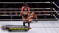 Ronda Rousey vs Nikki Bella. Evolution 2018.