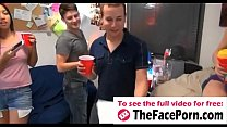 Naughty girls cock fucking in groupsex during dorm party - www.thefaceporn.com's Thumb