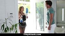 TeamSkeet - Sexy Busty Maid Fucks Huge Cock
