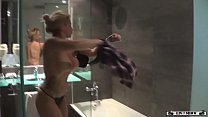 Sabrina Moon in hot shower